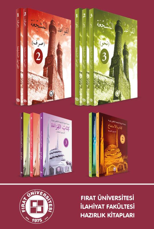 Elazığ Fırat Üniversitesi İlahiyat Hazırlık Seti (Müşeccia 9 Kitap)