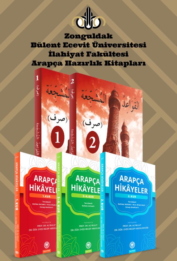 Zonguldak Bülent Ecevit Üniversitesi İlahiyat Fakültesi Arapça Hazırlık Seti